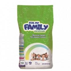 Стиральный порошок For my Family 10 кг универсальный