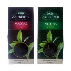 Чай листовой  зелёный рассыпной Belin Zauberer, 80 г