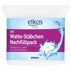 Палочки ватные гигиенические Elkos Watte-Stabchen 160шт (Германия)