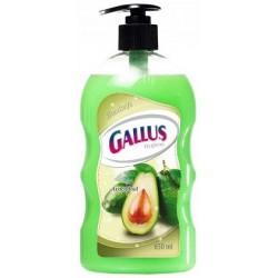 Жидкое мыло GALLUS с дозатором Авокадо, 650 мл Германия.