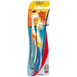 Зубная щетка Elkos Kids до 6 лет, 2 шт