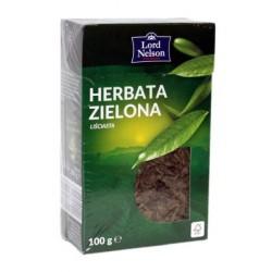 Зелёный чай Lord Nelson Zielona Herbata рассыпной 100 г