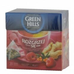 Green Hills Rozgrzej Sie Чай с имбирем, облепихой и малиной (20 пакетиков)