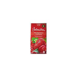 Чай пакетированный INTENSITEA Клубника и вишня 20пак(Польша)
