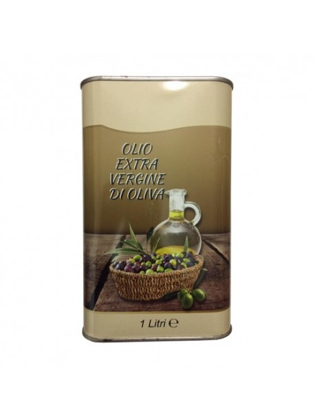 Оливковое масло Olio Extra Vergine di Oliva, 1л Италия.