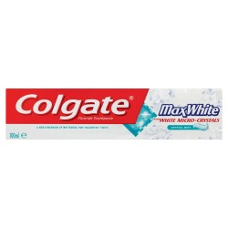 Зубная паста гелевая Colgate Max White Crystal Mint 100 мл