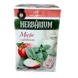 Чай пакетированный Gwarancja Jakosci Herbarium Mieta z Jablkiem 30пак