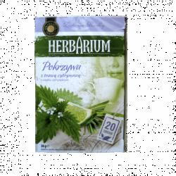 Чай пакетированный Gwarancja Jakosci Herbarium крапива и лайм 20 пак (Польша)