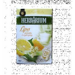 Чай пакетированный Gwarancja Jakosci Herbarium Lipa & miodu i cytryny 20пак (Польша)
