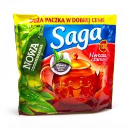 Чай пакетированный Saga (130 пакет.) черный