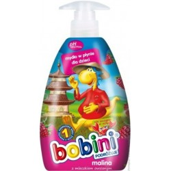 Жидкое детское мыло Bobini Малинка, 400 мл