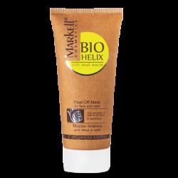 Маска-пленка для лица и шеи с муцином улитки Markell Cosmetics Bio-Helix 100мл