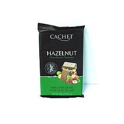 CACHET MILK CHOCOLATE HAZELNUT - Шоколад молочный с лесным орехом 300гр Бельгия.