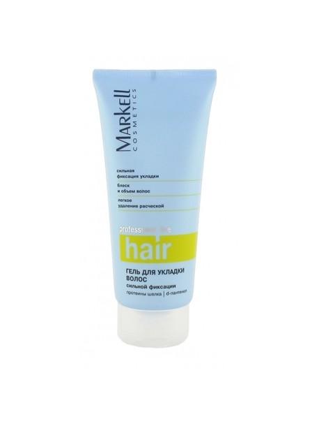 """Гель для укладки волос """"Сильной фиксации"""" Markell Cosmetics Professional Hair Line"""