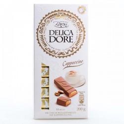 Шоколад Baron Delica Dore Cappuccino молочний 200г.
