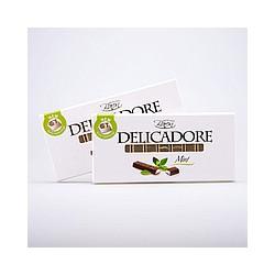 DELICADORE Baron «Mint» молочный шоколад (с мятной начинкой) 200 г.