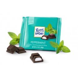 Шоколад Ritter Sport Pfefferminze мятный 100г, Германия