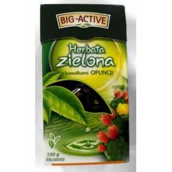 Чай листовой зеленый Big-Active pomarancza кактус 100 г