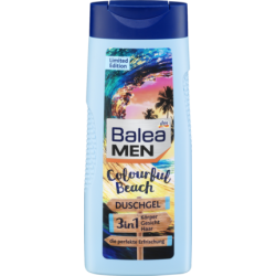 Гель для душа Balea Dusche Men 3in1 Duschgel Colourful Beach, 300 ml