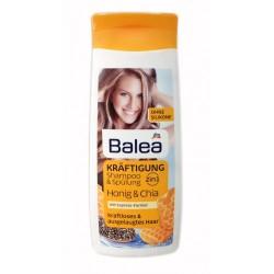 Balea 2in1 Kräftigung Shampoo + Spülung, 300 ml шампунь и ополаскиватель два в одном Мед и экстракт Чиа