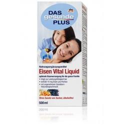 DAS gesunde PLUS Eisen Vital Liquid- железа, цинка, витамина С, биотина и витаминов (Германия) 500мл.