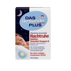 Драже валерианы - DAS gesunde PLUS Nachtruhe Baldrian Einschlaf-Dragees N