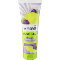 Balea Smoothie Dusche Fresh, 250 ml - Гель-душ с свежим ароматом Юзу и ягод асаи 250мл (Германия)