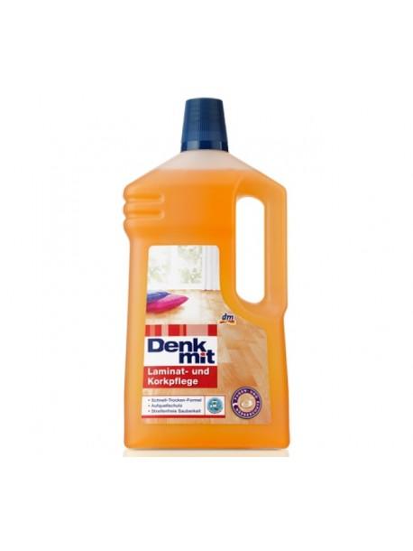 Средство для чистки ламината DenkMit Laminat- und Korkpflege 1л
