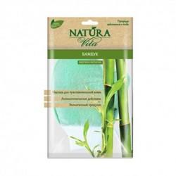 Мочалка-варежка Бамбук Natura Vita