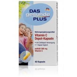 Vitamin C Depot-Kapseln Витаминн C в капсулах. (Германия) 40 капсул