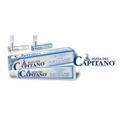 Итальянская зубная паста Pasta Del Capitano (100 мл) отбеливающая или для защиты от налета и кариеса