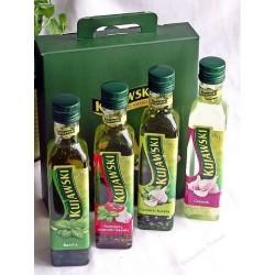 Рапсовое масло с добавками в ассортименте Kujawski, 250мл