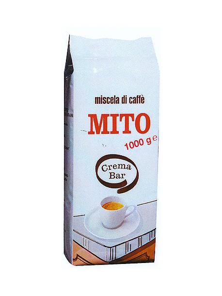 Кофе в зернах crema bar Mito 1kg Италия