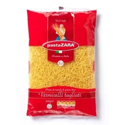 "Макаронные изделия ""Pasta Zara"" vermicelli tagliati №80 500г Италия."
