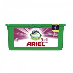 Капсулы для стирки - Ariel 3x Action Touch of Lenor 28шт.Италия.