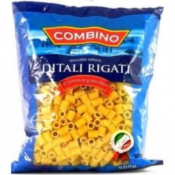 Combino Ditali Rigati - макароны Трубочки нарезные, 500г