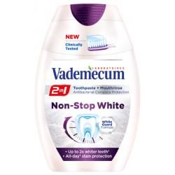 Зубная паста Vademecum Non-Stop white 2in1 75 мл.