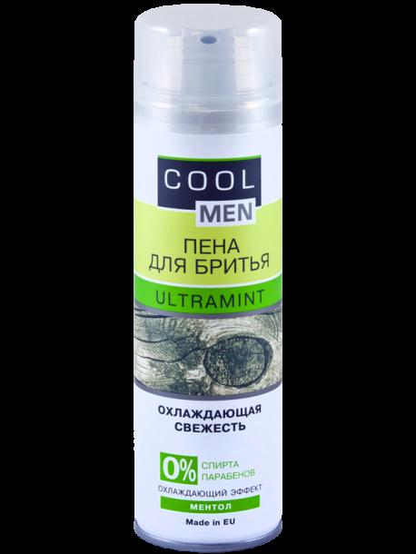"Пена для бритья ""Ultramint"" Cool Men 250мл"