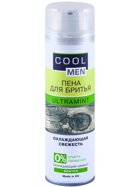 "Пена для бритья ""Ultramint"" Cool Men 250мл"