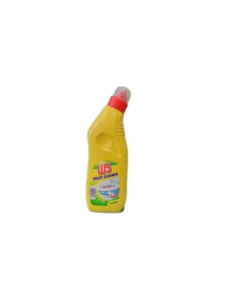 W5 Toilet Cleaner Lemon Средство для мытья унитаза (1 л) Германия