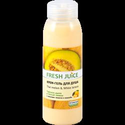 """Крем-гель для душа """"Тайская дыня и Белый лимон"""" Fresh Juice Thai Pleasure Thai Melon & White Lemon 300мл."""