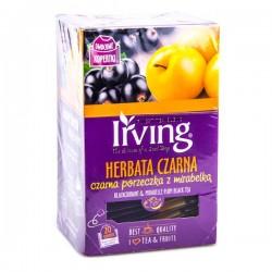 Чай черный – смородина и алыча Irving 20пак.