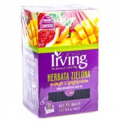 Чай зеленый – манго и грейпфрут Irving 20пак.
