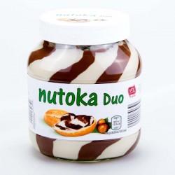 Крем шоколадный Nutoka Duo 750г.