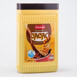 Какао с витаминами Dolciando Cacao банка 800г.