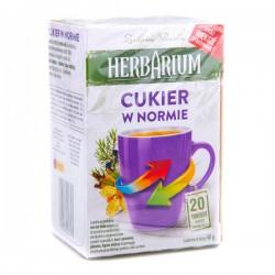 Чай травяной Herbarium Cukier w Norme 20 пакетов.