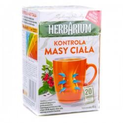 Чай травяной Herbarium kontrola masy ciala 20 пакетов.