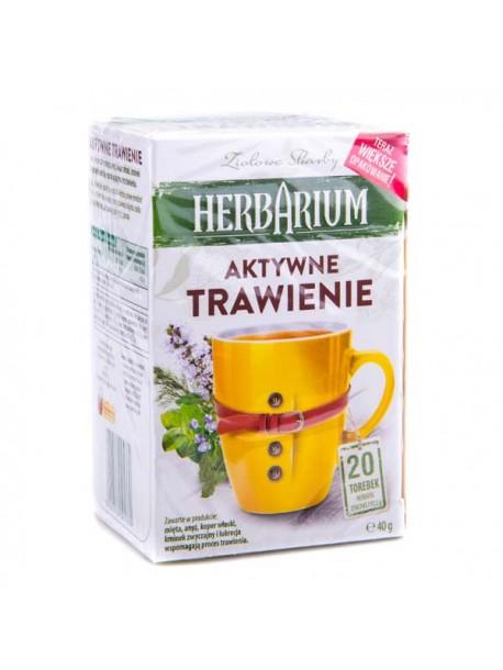 Чай травяной Herbarium Aktywne trawienie 20 пакетов.