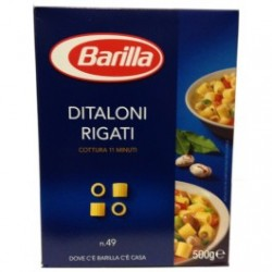 МАКАРОНЫ BARILLA DITALONI RIGATI N.49, 500Г