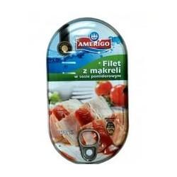 Amerigo скумбрия в томатном соусе 170 г